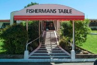 fishemans table entrance Fishermans Table   Ein besonderes Fischrestaurant in Neuseeland