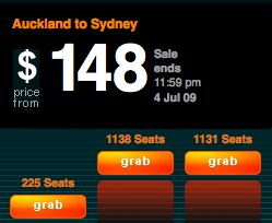 grab a seat 2 Air New Zealand   Grab A Seat