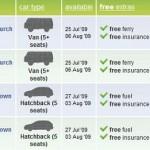 transfercar 150x150 Auto transfer, kostenlose Autovermietung in Neuseeland