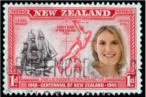 picjay 300x199 Weihnachtsgeschenke   Neuseeland Briefmarke als Poster
