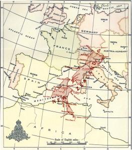 nz europe map2 1 263x300 Karte: Was waere, wenn Neuseeland in Europa liegen wuerde?